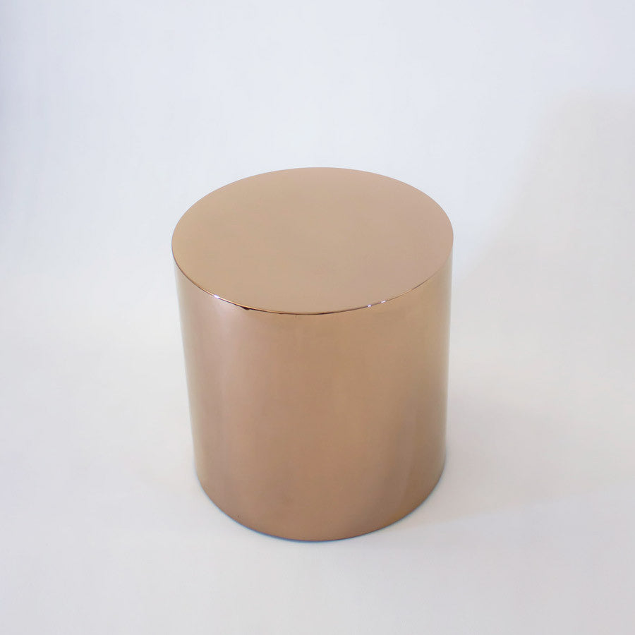 Temperature Drum   Rose Gold
