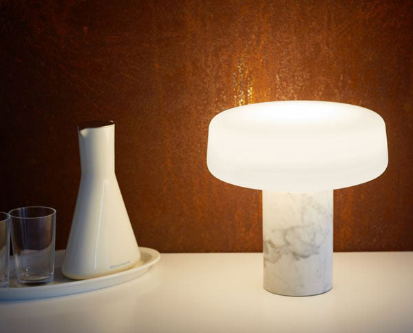 Tw solid table lamp carrara marble temperature design tw solid table lamp carrara marble mozeypictures Gallery