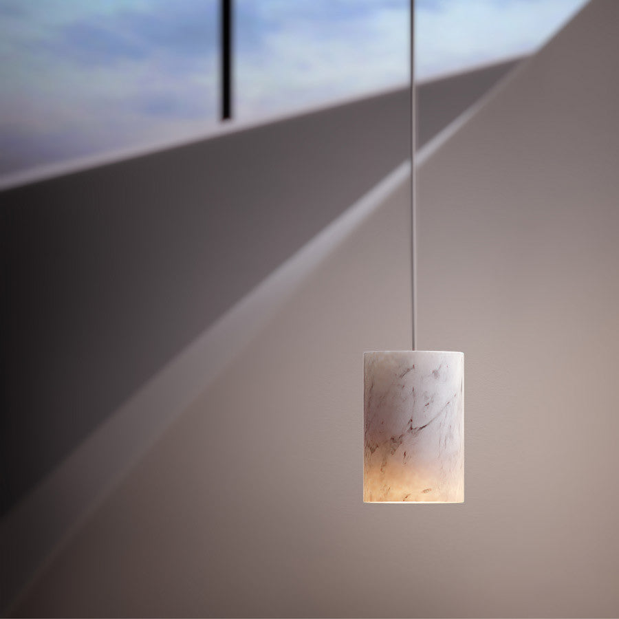 Tw Solid Pendant Carrara Marble Temperature Design