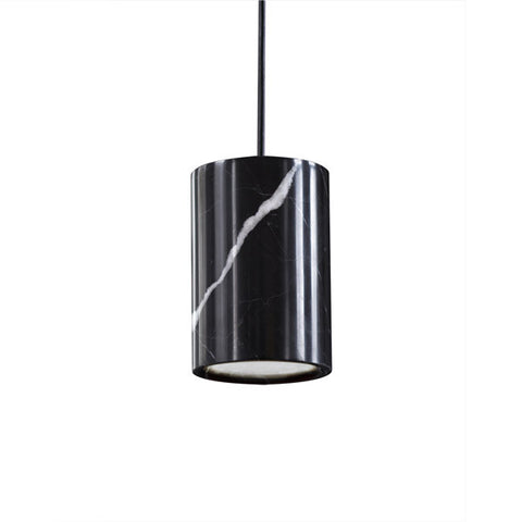 TW Solid Pendant - Marquina Marble