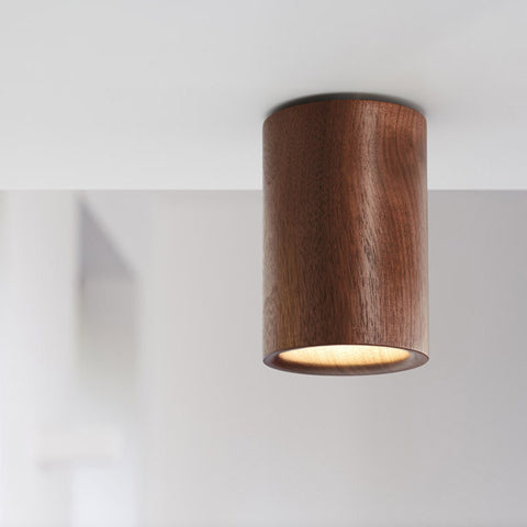 TW Solid Downlight Cylinder - Walnut