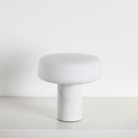 TW Table Lamp SMALL - Carrara Marble