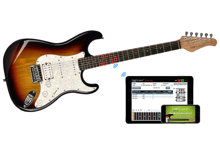 The New Fretlight Wireless Guitar