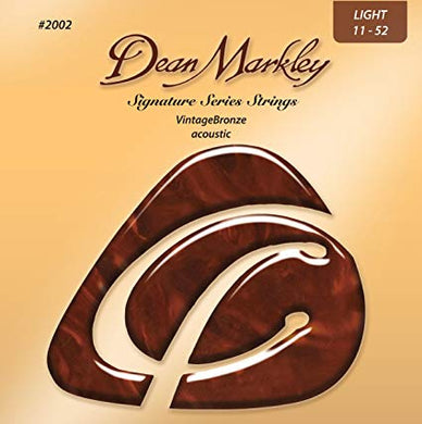 Dean Markley #2002 Signature Acoustic Strings - The Fretlight Guitar Store