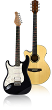 Left-Handed Fretlight Wireless Guitars - The Fretlight Guitar Store