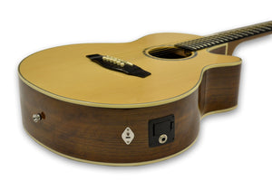 *EU/UK ONLY* FG-629 Wireless Acoustic/Electric Guitar - The Fretlight Guitar Store