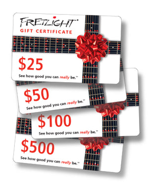 Fretlight Gift Card - The Fretlight Guitar Store