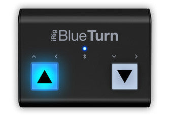 IK Multimedia iRig BlueTurn - The Fretlight Guitar Store