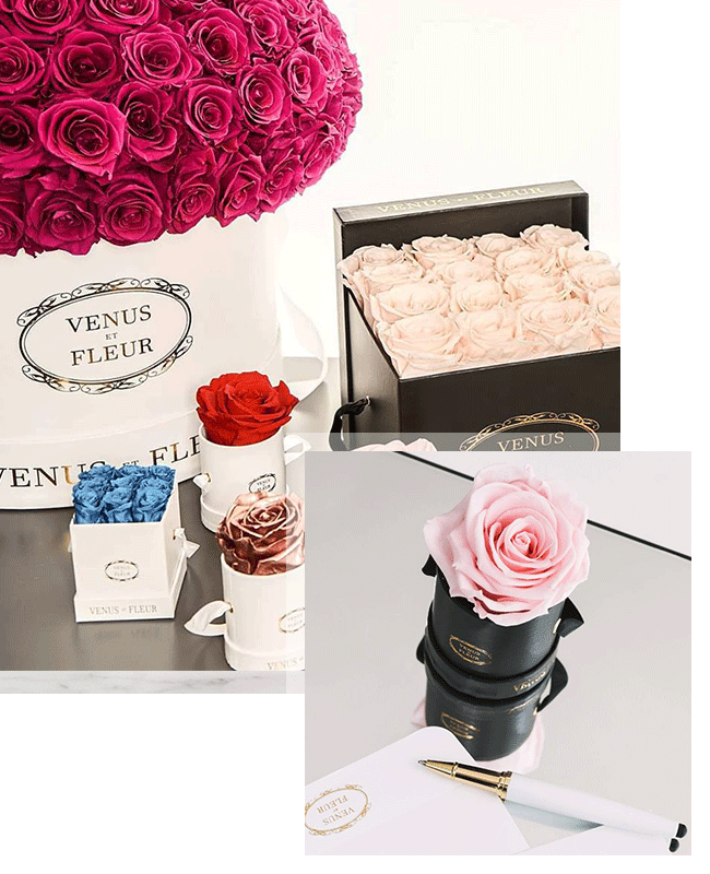 Hat Box Pink Roses Hand Painted Pink//White Stripes