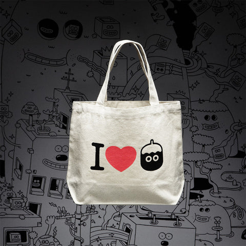Tote Bag s - 'I Love Pimon'
