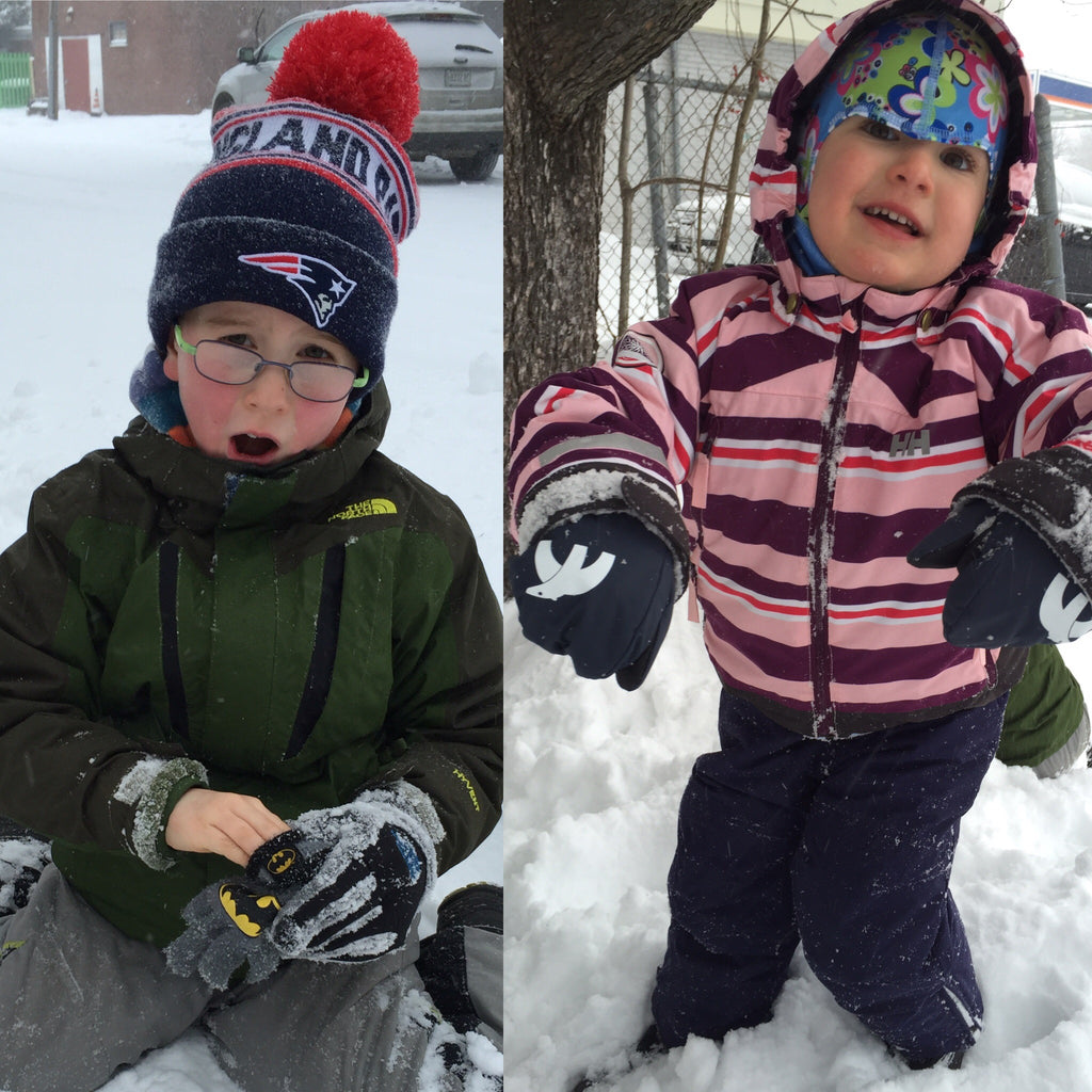 Cubbies - Mittens Gloves for Toddlers and Kids that never fall off enjoy the snow