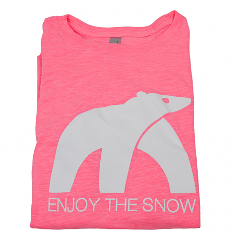 Enjoy the Snow pink T-Shirt