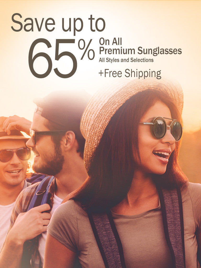 Wood Sunglasses- save up to 65%