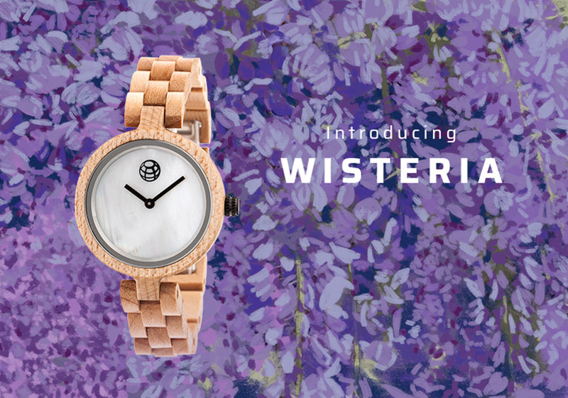 Earth Wood Wisteria Watches