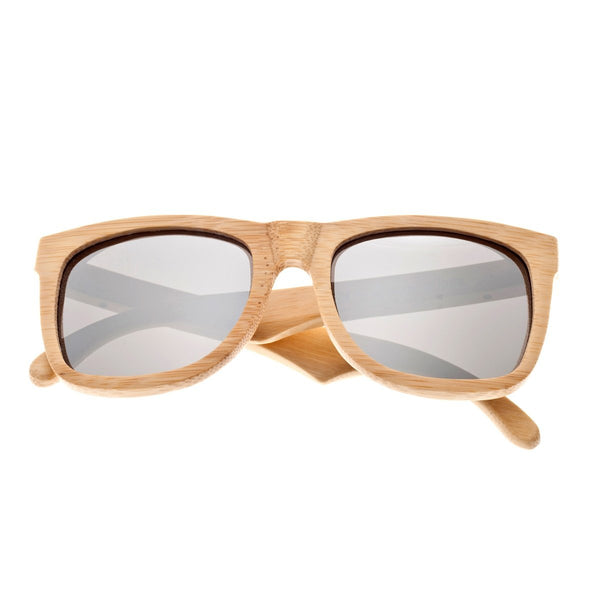 Earth Wood Hampton Sunglasses w/ Polarized Lenses - Khaki/Silver - Earth Wood Goods - Wood Watches, Wood Sunglasses, Natural Cork Bags