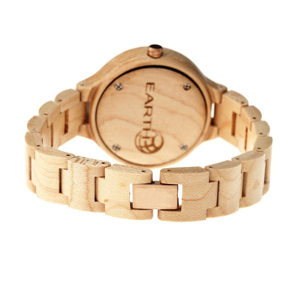 Earth Wood Nodal Bracelet Watch w/Date - Khaki/Tan - Earth Wood Goods - Wood Watches, Wood Sunglasses, Natural Cork Bags
