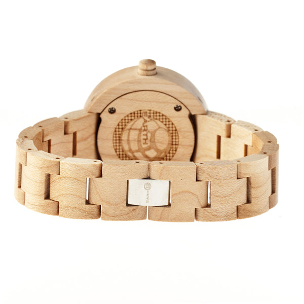 Earth Wood Root Bracelet Watch - Khaki/Tan - Earth Wood Goods - Wood Watches, Wood Sunglasses, Natural Cork Bags