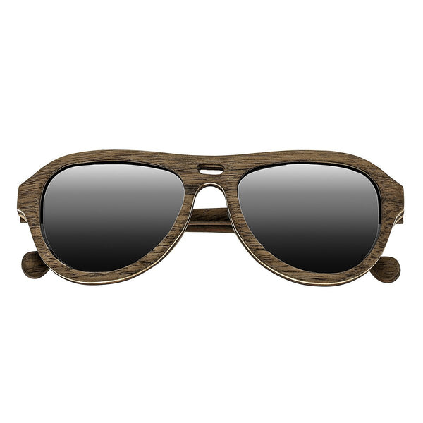 Earth Wood Clearwater Sunglasses w/ Polarized Lenses - Walnut & Rosewood/Black - Earth Wood Goods - Wood Watches, Wood Sunglasses, Natural Cork Bags