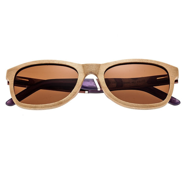 Earth Wood El Nido Sunglasses w/Polarized Lenses - Birch-wood/Brown - Earth Wood Goods - Wood Watches, Wood Sunglasses, Natural Cork Bags