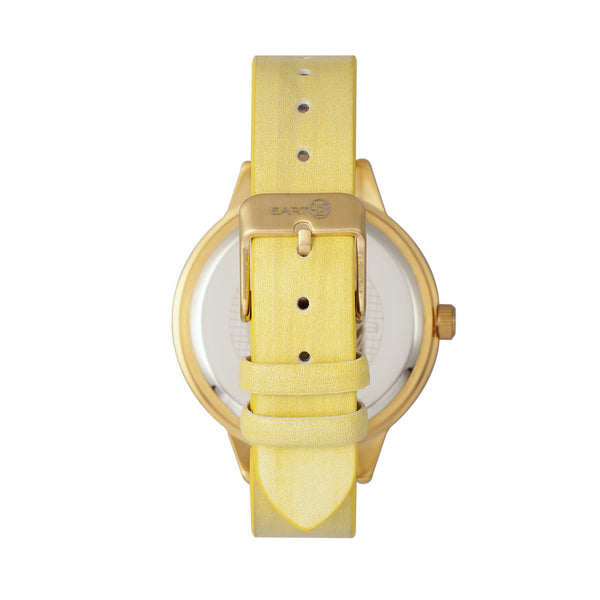 Earth Wood Autumn Watch - Gold/Yellow - Earth Wood Goods - Wood Watches, Wood Sunglasses, Natural Cork Bags