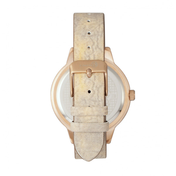 Earth Wood Autumn Watch - Rose Gold/Brown - Earth Wood Goods - Wood Watches, Wood Sunglasses, Natural Cork Bags
