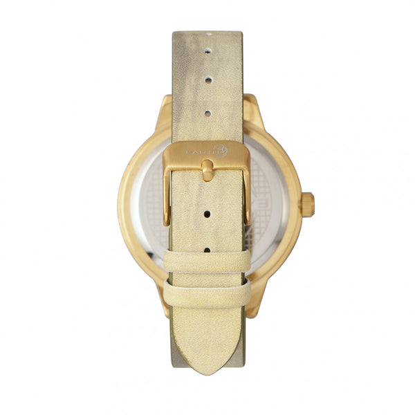 Earth Wood Autumn Watch - Gold/Khaki-Tan - Earth Wood Goods - Wood Watches, Wood Sunglasses, Natural Cork Bags