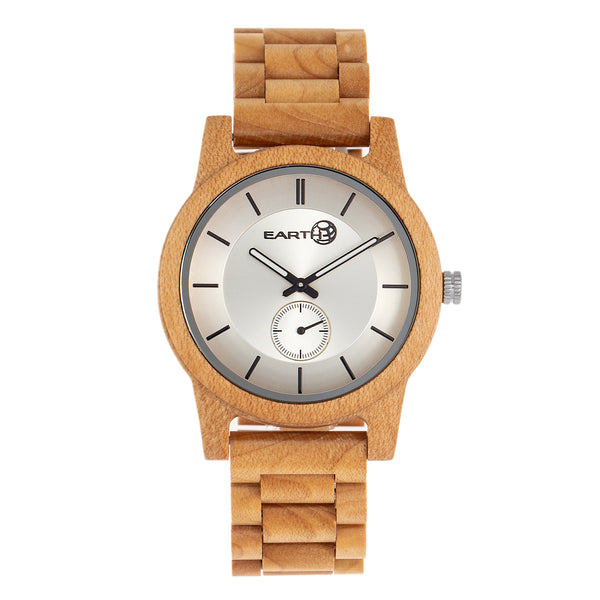 Earth Wood Blue Ridge Bracelet Watch - Khaki/Tan - Earth Wood Goods - Wood Watches, Wood Sunglasses, Natural Cork Bags