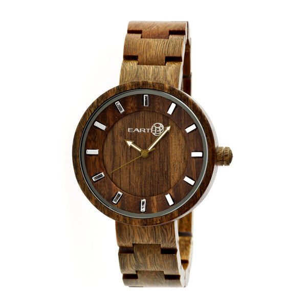 Earth Wood Root Bracelet Watch - Olive - Earth Wood Goods - Wood Watches, Wood Sunglasses, Natural Cork Bags