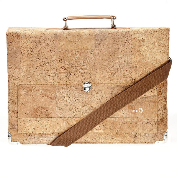 EARTH Cork Briefcases Faro Ck3001 - Earth Wood Goods - Wood Watches, Wood Sunglasses, Natural Cork Bags