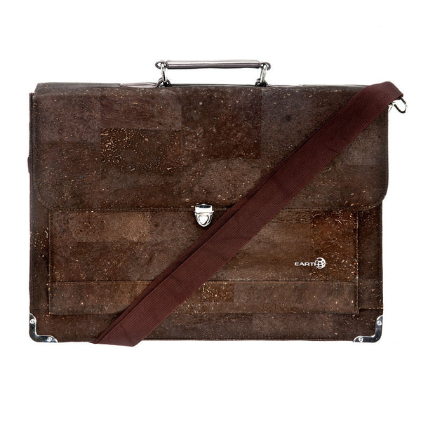 EARTH Cork Briefcases Faro Ck3003 - Earth Wood Goods - Wood Watches, Wood Sunglasses, Natural Cork Bags