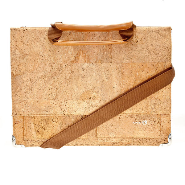EARTH Cork Briefcases Tondela Ck4001 - Earth Wood Goods - Wood Watches, Wood Sunglasses, Natural Cork Bags