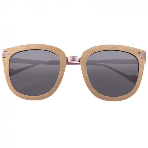 Earth Wood Nissi Sunglasses w/Polarized Lenses - Maple/Black - Earth Wood Goods - Wood Watches, Wood Sunglasses, Natural Cork Bags