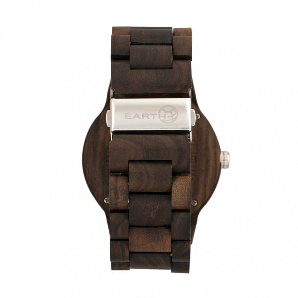 Earth Wood Bighorn Bracelet Watch - Dark Brown - Earth Wood Goods - Wood Watches, Wood Sunglasses, Natural Cork Bags