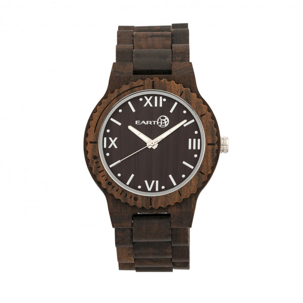Earth Wood Bighorn Bracelet Watch - Dark Brown
