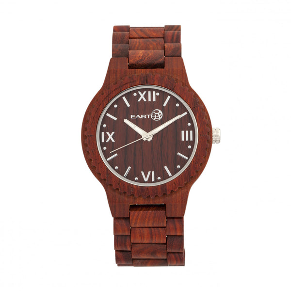 Earth Wood Bighorn Bracelet Watch - Red - Earth Wood Goods - Wood Watches, Wood Sunglasses, Natural Cork Bags