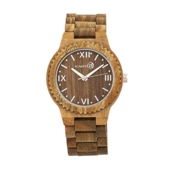 Earth Wood Bighorn Bracelet Watch - Olive - Earth Wood Goods - Wood Watches, Wood Sunglasses, Natural Cork Bags