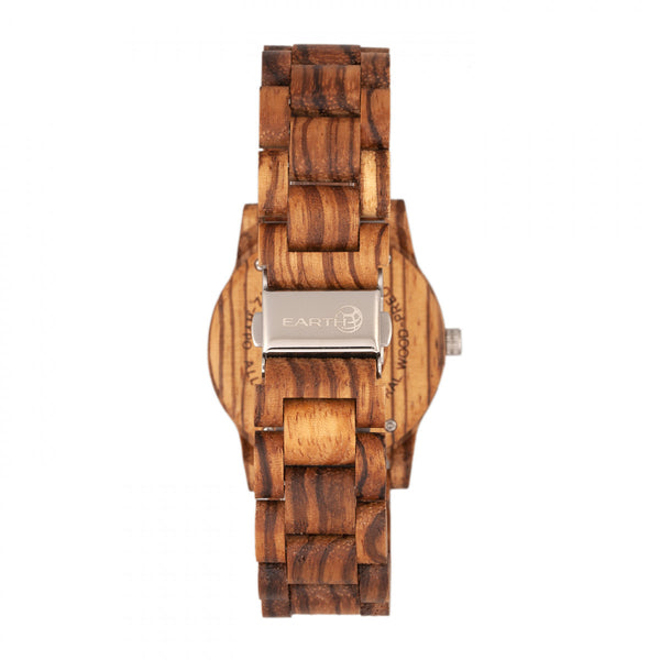 Earth Wood Crown Bracelet Watch - Olive - Earth Wood Goods - Wood Watches, Wood Sunglasses, Natural Cork Bags