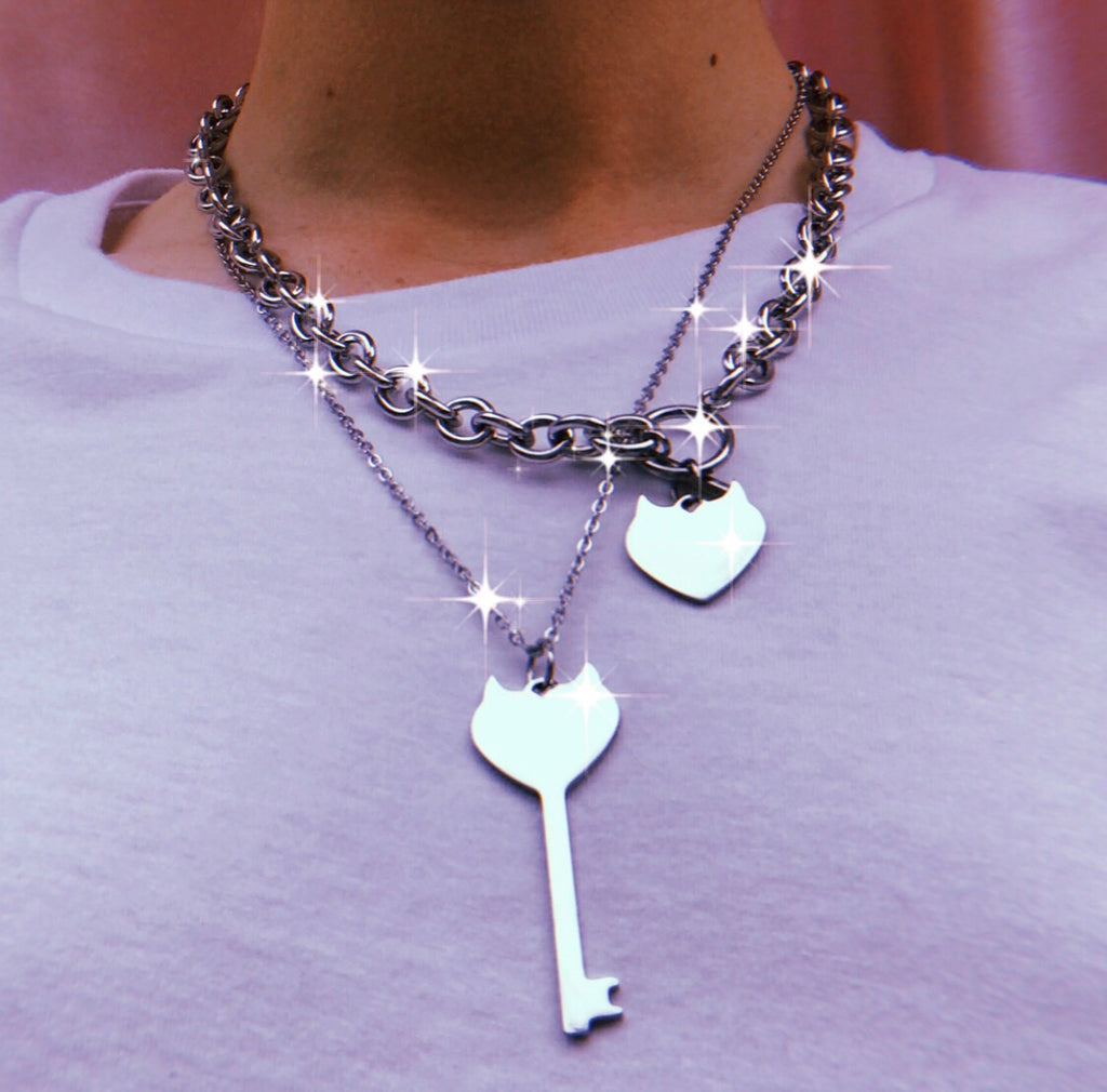 KEY 2 MY HEART NECKLACE