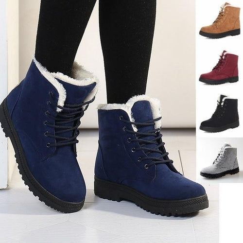 Ankle High Women's Boots, Ladies Winter Boots - NoSoon