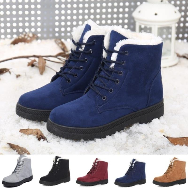 Ankle High Women's Boots, Ladies Winter Boots - FULLINO