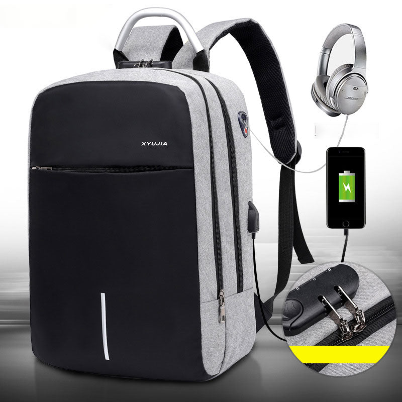 Multifunctional Backpack With USB Charger - FULLINO