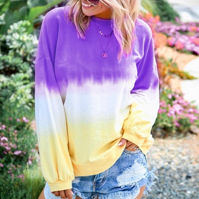 Women's Rainbow Sweatshirt - FULLINO