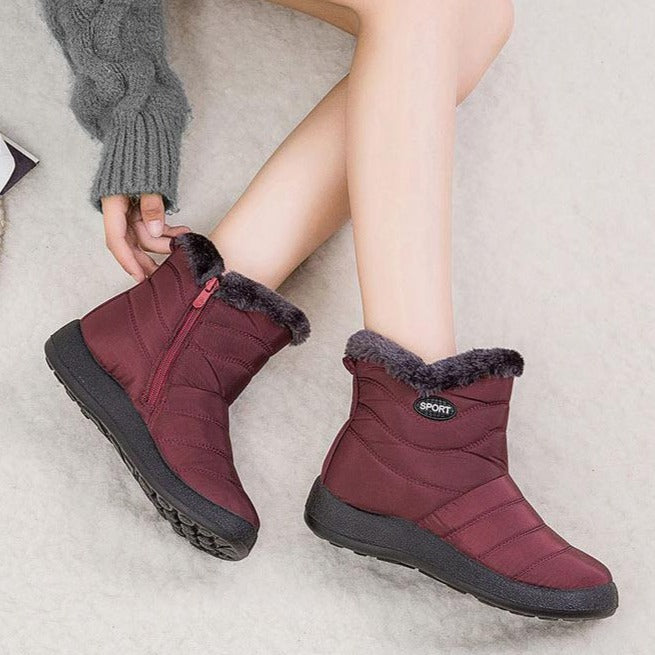 Women Winter Snow Boots - FULLINO