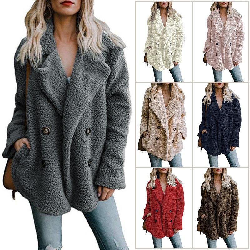 Women Warm Fur Jacket - FULLINO