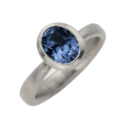 SOLD Blue Spinel Ring