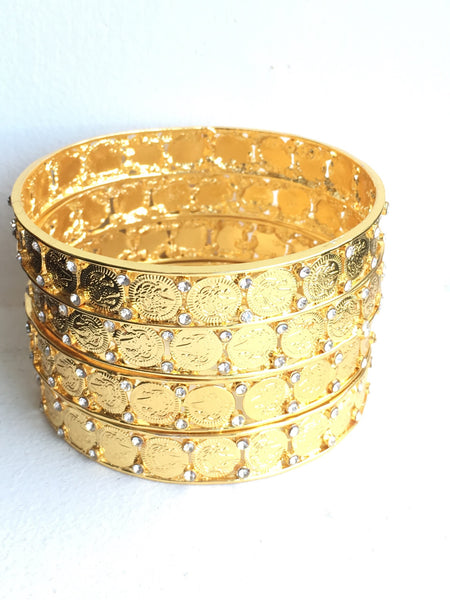 Super Coined Bangles