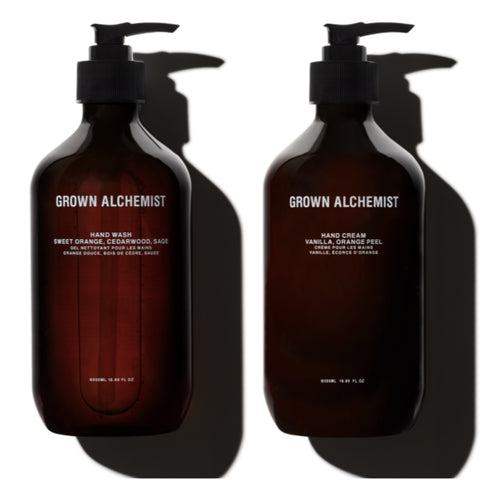 HAND WASH & HAND CREAM DUO / 500ml