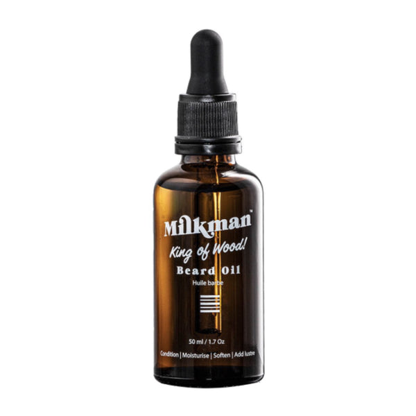 THE MILKMAN BEARD OIL / KING OF WOOD 50ML
