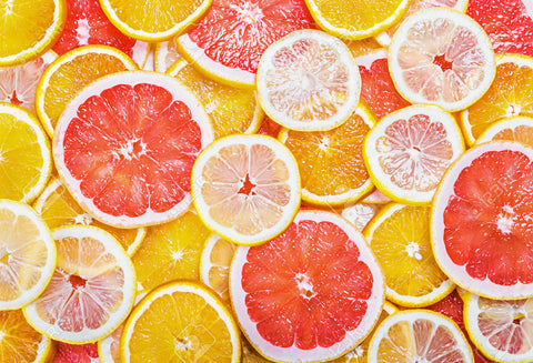 Citrus Fruits Fresh Fruit Slices