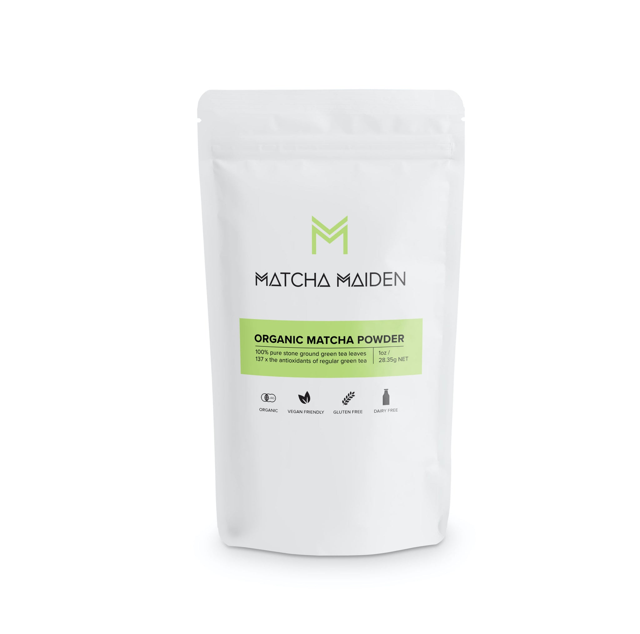 ORGANIC MATCHA GREEN TEA POWDER - 28.35g (Coming Soon)